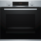 Bosch HBS534BS0B Red Display, 7 Functions, 2-Piece Slim Pans, Ecoclean Back