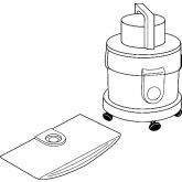 Vax Replacement Vacuum Cleaner Paper Dust Bags SDB152