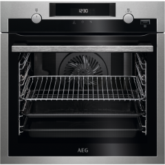 AEG BPS55IE20M Built In Electric Single Oven - Stainless Steel