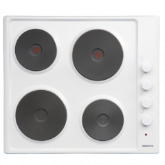 Beko HIZE64101W Electric solid hob plate