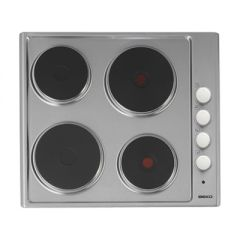 Beko HIZE64101X Electric solid hob plate