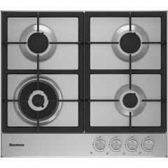 Blomberg GEN73415 Gas Hob 60cm Heavy Duty Cast Iron Pan Supports