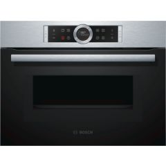 Bosch CMG633BS1B Compact Oven & Microwave
