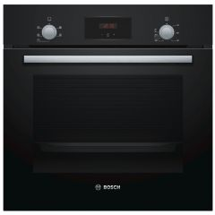 Bosch HHF113BA0B Serie 2 Built In Single Oven 13Amp Fan Oven, Easy Clean Enamel Interior