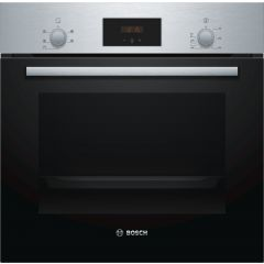 Bosch HHF113BR0B Single Built In Oven Stainless Steel