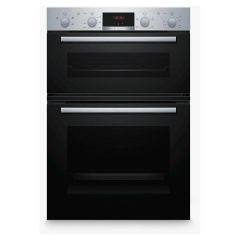 Bosch MHA133BR0B Built In Double Oven 3D Hot Air