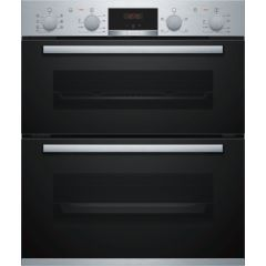 Bosch NBS533BS0B Double Built Under Oven Stainless Steel