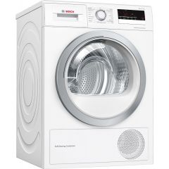 Bosch WTW85231GB Capacity: 8Kg Heat pump dryer with self cleaning condenser, Energy: Drum interior l