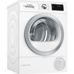 Bosch WTWH7660GB 296WTWH7660GB Tumble Dryer A++ Rated, 9kg, Heat Pump, Self Cleaning Condenser, 24 H