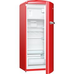Gorenje ORB153RD Retro Fridge With Ice Box Fire Red A+++ Energy Rating