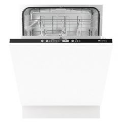 Hisense HV651D60UK Integrated Full Size Dishwasher - White
