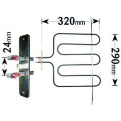 Homark Cooker Grill Element 2100W ELE2400