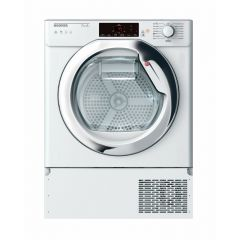 Hoover HBTDWH7A1TCE-80 Heat Pump Tumble Dryer Integrated, 7Kg, White, Wi-Fi + Nfc