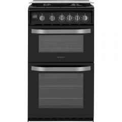 Hotpoint HD5G00CCBK 50Cm Double Gas Oven With Lid
