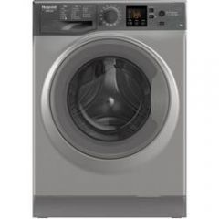 Hotpoint NSWE743UGG 097NSWE743UGG 1400 Spin 7kg Washing Machine A+++ Energy Rated, 16 Programmes, 9H