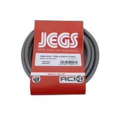 Jegs JEGCC005HH2 2M 6.0Mm 6242Y Twin And Earth Flex