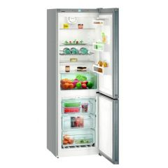 Liebherr CNEL4313 No Frost Fridge Freezer Freestanding In Silver 60cm Wide