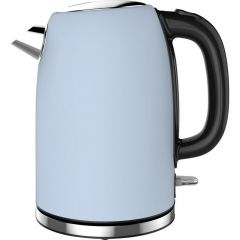 Linsar JK115BLUE JK115Blue Electric Jug Cordless Kettle, 1.7L Capacity, 2520-3000w, Dry Boil Protect