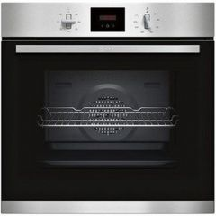 Neff B1GCC0AN0B 148B1GCC0AN0B Built In Single Oven A Rated, Electric, 71L Capacity, Fan Oven, Fixed