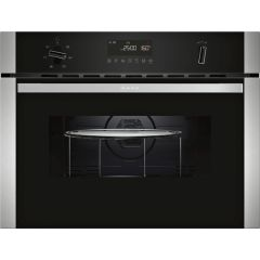 Neff C1AMG83N0B 3 functions, electronic, LCD Display, MW + Oven with combination options, 15 automat
