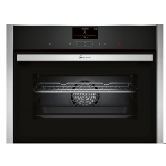 Neff C27CS22H0B N 90, Built-In Compact Oven, 60 Cm, Stainless Steel