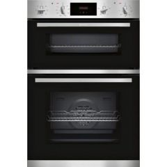 Neff U1GCC0AN0B 148U1GCC0AN0B Built In Double Oven A Rated, Electric, 71L Main Oven 34L Top Oven, Ma
