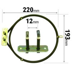 Philips Whirlpool Cooker Fan Oven Element 2000W ELE2075