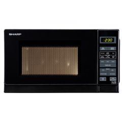 Sharp R272KM R272KM Solo Microwave, 20 LTRS, 800W, Touch Control, 6 Pre-Programmed Automatic Menus,