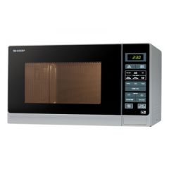 Sharp R372SLM R372SLM Solo Microwave, 25 LTRS, 900W, Touch Control, 6 Pre-Programmed Automatic Menus