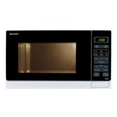Sharp R372WM R372WM Solo Microwave, 25 LTRS, 900W, Touch Control, 6 Pre-Programmed Automatic Menus,