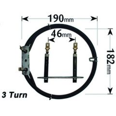 Stoves Cooker Fan Oven Element 3 Turn 2500W ELE101