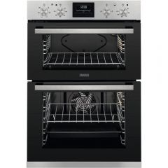 Zanussi ZOA35660XK 058ZOA35660XK Cooker Double Oven A Energy Rated, Fan Oven, Multi Plus Oven , Set